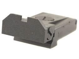 Kensight Adjustable Rear Sight Glock 17, 22, 24, 31, 34, 35 Steel Black Beveled Blade Fully Serrated