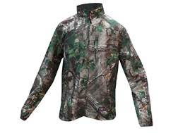 10X Men's Ultra-Lite Full Zip Jacket Polyester Ripstop Realtree Xtra Green XL 46-48