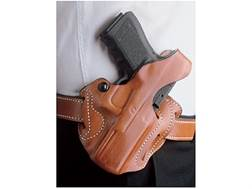 DeSantis Thumb Break Scabbard Belt Holster 1911 Officer Suede Lined Leather