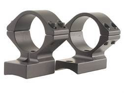 "Talley Lightweight 2-Piece Scope Mounts with Integral 1"" Extended Rings Winchester 70 Post-64 with .330 Rear Mount Hole Spacing Matte Low"