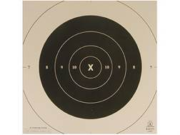 NRA Official Pistol Targets Repair Center B-6C 50 Yard Slow Fire Tagboard Package of 100