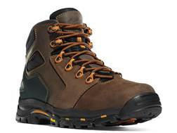 "Danner Vicious 4.5"" Waterproof Uninsulated Non-Metallic Toe Work Boots Leather Brown/Orange Men's"