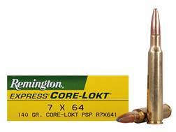 Remington Express Ammunition 7x64mm Brenneke 140 Grain Core-Lokt Pointed Soft Point Box of 20