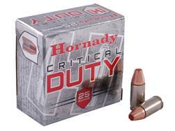 Hornady Critical Duty Ammunition 9mm Luger +P 135 Grain FlexLock Box of 25