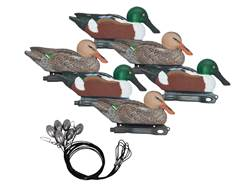 Hard Core Pre-Rigged Northern Shoveler Duck Decoy Pack of 6
