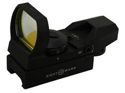 Sightmark Sure Shot Reflex Red Dot Sight 30mm Tube 1x 4 Pattern (Dot, Cross, Cross-Circle, Circle-Dot) Reticle Matte