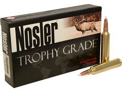 Nosler Trophy Grade Ammunition 28 Nosler 160 Grain AccuBond Spitzer Box of 20