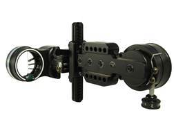 "Spot-Hogg Wrapped Boss Hogg 3-Pin Bow Sight .019"" Pin Diameter Small Guard Right Hand Aluminum Black"