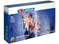 Lapua Mega Ammunition 30-06 Springfield 200 Grain Soft Point Box of 20