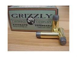 Grizzly Ammunition 500 Linebaugh 435 Grain Cast Performance Lead Wide Flat Nose Gas Check (950 fps) Box of 20