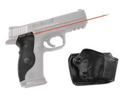 Crimson Trace Lasergrips Smith & Wesson M&P (Not Compact Models) Polymer Black with Gould & Goodrich Holster