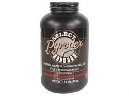 Hodgdon Pyrodex Select Black Powder Substitute 1 lb