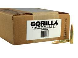 Gorilla Ammunition 300 AAC Blackout 147 Grain Full Metal Jacket Boat Tail Case of 200 (10 Sleeves of 20)