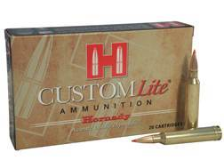 Hornady Custom Lite Ammunition 7mm Remington Magnum 139 Grain SST Box of 20