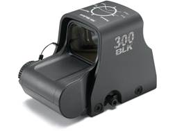 EOTech XPS2-300 Blackout/Whisper Holographic Weapon Sight 68 MOA Circle with (2) 1 MOA Dots Matte...