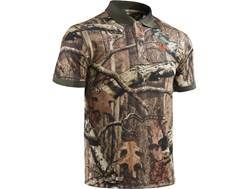 Under Armour Men's UA Camo Polo Shirt Short Sleeve Polyester Mossy Oak Break-Up Infinity Camo Medium 38-40