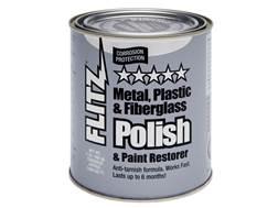 Flitz Paste Metal Polish 2 lb Can
