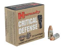 Hornady Critical Defense Ammunition 32 North American Arms (NAA) 80 Grain Flex Tip eXpanding Box of 25