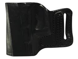 DeSantis E-Gat Slide Outside the Waistband Holster Left Handed Glock 17, 22, 23, 26, 27 Leather Black