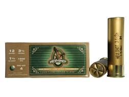 "Hevi-Shot Duck Waterfowl Ammunition 12 Gauge 3-1/2"" 1-3/8 oz #4 Non-Toxic Shot"