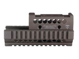 Midwest Industries US Palm 2-Piece Quad Rail Handguard AK-47, AK-74 with Aimpoint Micro, Vortex Sparc or Primary Arms Micro Dot Top Cover Optic Mount Aluminum Flat Dark Earth