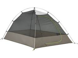 "Kelty Grand Mesa 2 Man Dome Tent 82"" x 58"" x 44"" Polyester White, Gray and Green"
