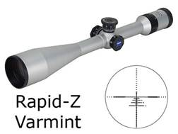 Zeiss MC Conquest Rifle Scope 6.5-20x 50mm Side Focus Target Turrets Rapid Z Varmint Reticle Silver Factory Reconditioned