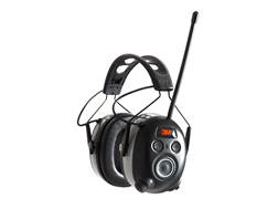 Peltor Worktunes Wireless AM/FM Radio with Bluetooth Electronic Earmuffs (NRR 24dB) Black