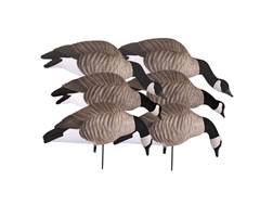 GHG Newbold FFD Lesser Full Body Goose Decoy Pack of 6 with 6-Slot Decoy Bag