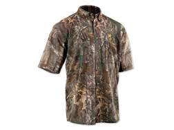 Browning Men's Wasatch Mesh-Lite Shirt Short Sleeve Polyester Realtree Xtra Camo Medium 40-42