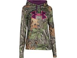 Under Armour Women's UA Camo Big Logo Hoodie Polyester Mossy Oak Obsession XL