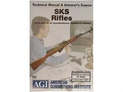 "American Gunsmithing Institute (AGI) Technical Manual & Armorer's Course Video ""SKS Rifles"" DVD"