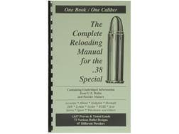 "Loadbooks USA ""38 Special"" Reloading Manual"