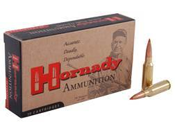 Hornady Custom Ammunition 6.5 Grendel 123 Grain A-Max Boat Tail Box of 20