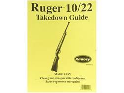 """Radocy Takedown Guide """"Ruger 10/22"""""""