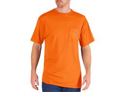 Dickies Men's Performance T-Shirt Short Sleeve Polyester Blend Neon Orange 2XL