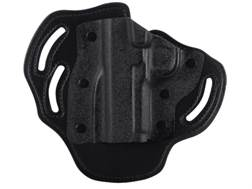 DeSantis Intimidator Belt Holster Left Hand 1911 Government, Commander Kydex and Leather Black