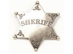 Collector's Armoury Replica Old West Antique Sheriff Badge