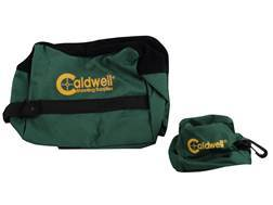 Caldwell DeadShot Front and Rear Shooting Rest Bag Set Nylon Unfilled Green