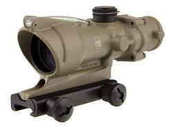 Trijicon ACOG TA31 BAC Rifle Scope 4x 32mm Dual-Illuminated Horseshoe Dot 223 Remington Reticle with TA51 Flattop Mount Matte