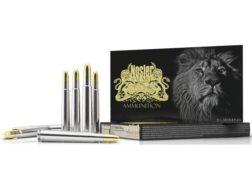 Nosler Safari Ammunition 375 H&H Magnum 300 Grain Solid Box of 20