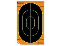"""Caldwell Orange Peel Targets 7"""" Self-Adhesive Silhouette Package of 10"""