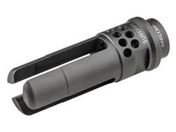 """Surefire WarComp Flash Hider Suppressor Adapter AR-10, LR-308 5/8""""-24 Thread Steel Matte"""