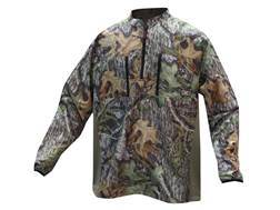10X Men's Ultra-Lite 1/4 Zip Pullover Long Sleeve Polyester Ripstop Mossy Oak Obsession Medium 38-40