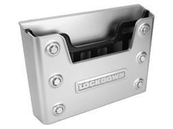 LOCKDOWN Large Document Holder Polymer Gray with Black Insert
