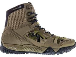"Under Armour UA Valsetz RTS 7"" Uninsulated Tactical Boots Leather and Nylon Ridge Reaper Barren Men's"