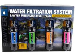 Sawyer Mini Water Filtration System 4-Pack