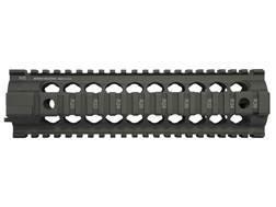 Midwest Industries Gen 2 Free Float 2-Piece Handguard Quad Rail AR-15 Mid Length Aluminum OD Green