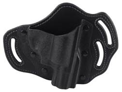 "DeSantis Intimidator Belt Holster Right Hand S&W J-Frame 2""-2.5"" Kydex and Leather Black"