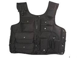 Hunter Tactical Vest One Size Fits Most Nylon Black